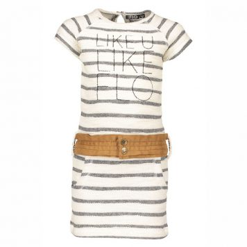 Like Flo YD Stripe Sweat Dress