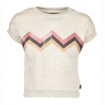 Like Flo Zigzag Sweater