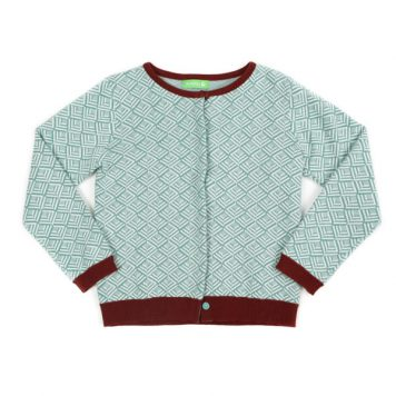 Lily Balou Alexe Cardigan Knit Sage Green