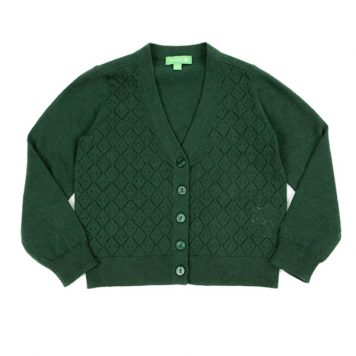 Lily Balou Alicia Cardigan Dark Green