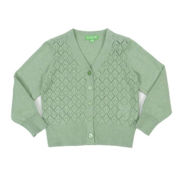 Lily Balou Alicia Cardigan Frosty Green
