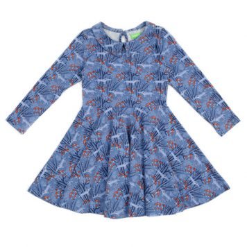 Lily Balou Amelie Dress Wolves Blue