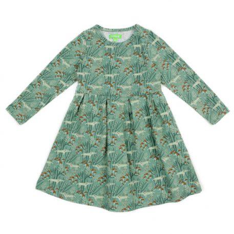 Lily Balou Anna Dress Wolves Green