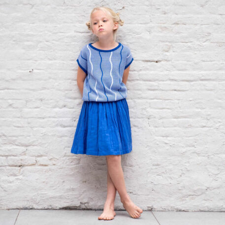 Lily Balou Bella Top Dazzling Blue