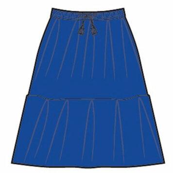 Lily Balou Benedicte Skirt Dazzling Blue