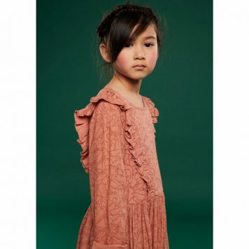 Lily Balou Coco Dress Flanel Rabbit