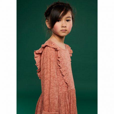 Lily Balou Coco Dress Flanel Rabbit