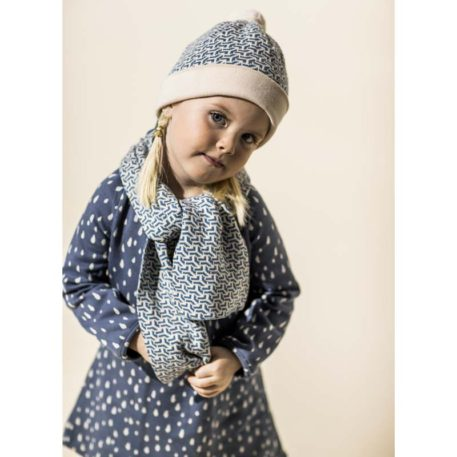 Lily Balou Dress Jacquard Alizee Raindrops