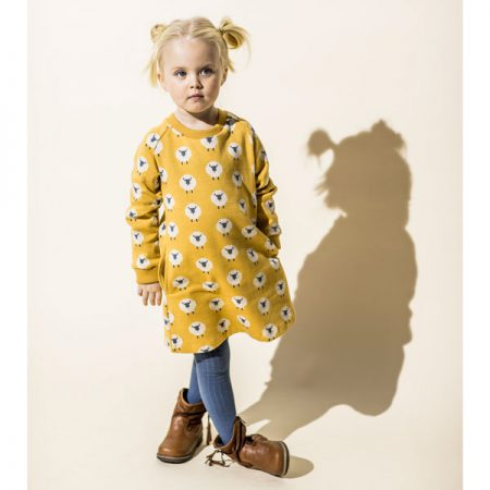 Lily Balou Dress Jacquard Isolde Sheep