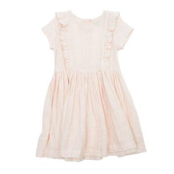 Lily Balou Dress Jacqueline Dress Muslin Cream