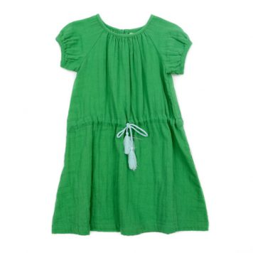 Lily Balou Dress Luci Muslin Grass Green