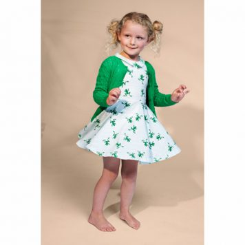 Lily Balou Dress Tiny Frogs
