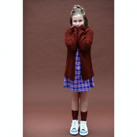 Lily Balou Eloise Loose Cardigan Brick