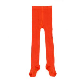 Lily Balou Eva Tights Tangerine Red
