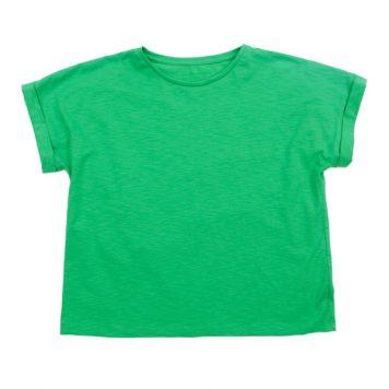 Lily Balou Fenna T-shirt Slub Jersey Grass Green