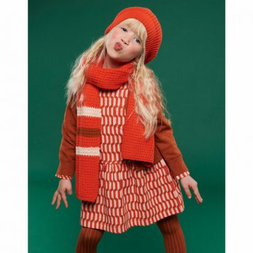 Lily Balou Fiona Dress Blocks Red