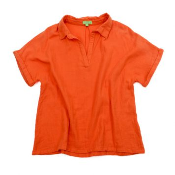 Lily Balou Gloria Blouse Muslin Red Orange