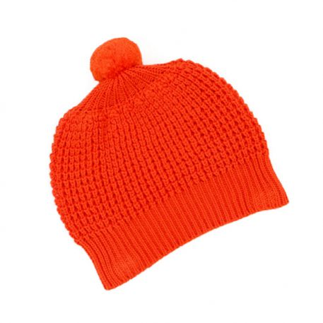 Lily Balou Hat Tangerine Red