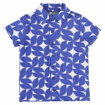 Lily Balou Jeff Shirt Cobalt Dream