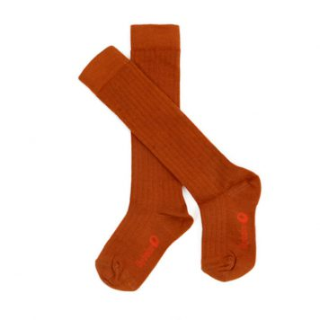 Lily Balou Jordan Knee Socks Biscuit Brown