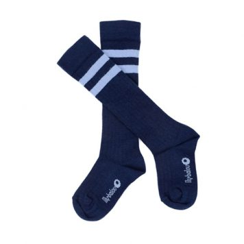 Lily Balou Jordan Knee Socks Dark Blue