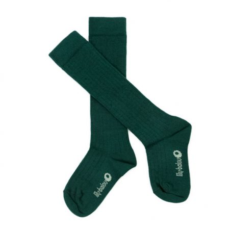 Lily Balou Jordan Knee Socks Dark Green