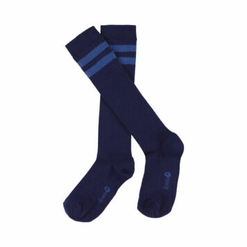 Lily Balou Jordan Knee Socks Striped Patriot Blue