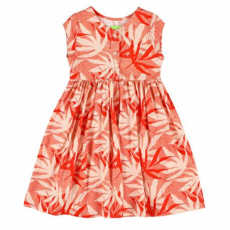 Lily Balou Jozefien Dress Palm Leaves