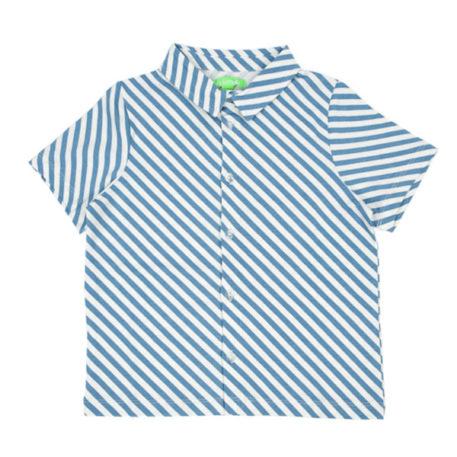 Lily Balou Julian Shirt Diagonal Stripes