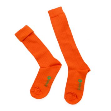 Lily Balou Kneesocks Jordan Red Orange