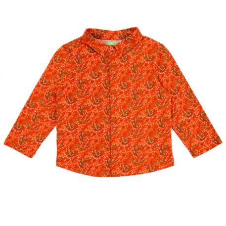 Lily Balou Lucas Shirt Foxes