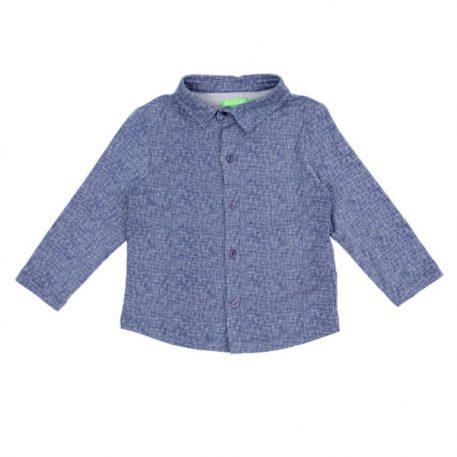 Lily Balou Lucas Shirt Texture Blue