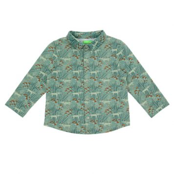 Lily Balou Lucas Shirt Wolves Green