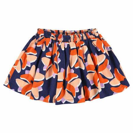 Lily Balou Millie Mini Skirt Big Flower
