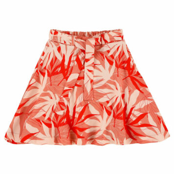 Lily Balou Nina Skirt Palm Leaves