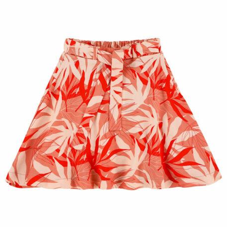 Lily Balou Nina Skirt Palm Leaves