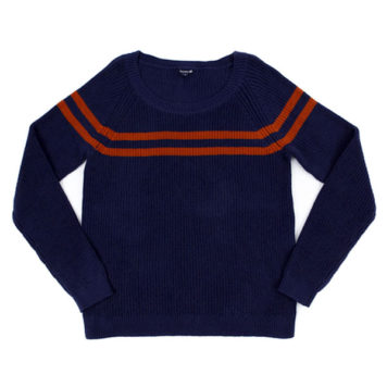 Lily Balou Otis Striped Sweater Dark Blue