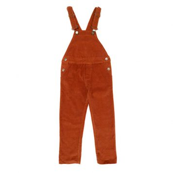 Lily Balou Otto Overalls Biscuit Brown