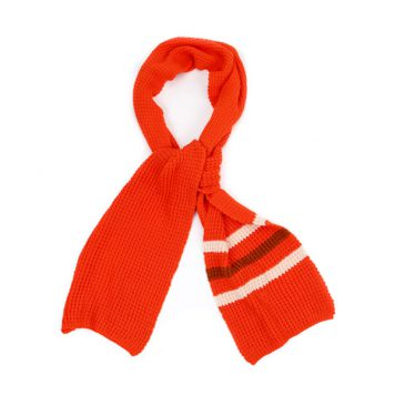 Lily Balou Scarf Tangerine Red