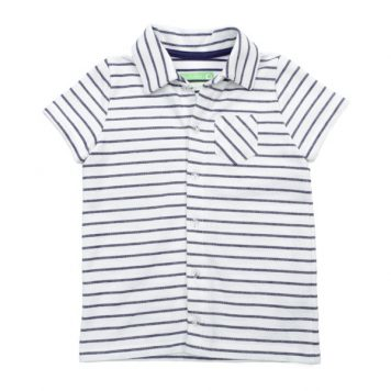 Lily Balou Shirt Jonathan Striped Gentian Blue