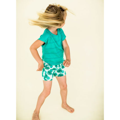 Lily Balou Short Hailey Palm Leaves