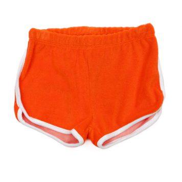 Lily Balou Shorts Arthur Terry Red Orange