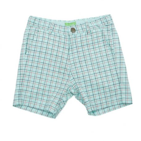 Lily Balou Shorts Astor Coton Twill Double Grid