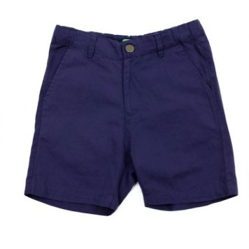 Lily Balou Shorts Astor Coton Twill Gentian Blue