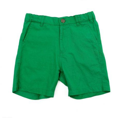 Lily Balou Shorts Astor Coton Twill Grass Green