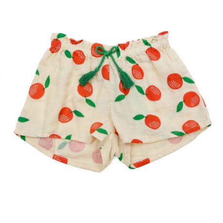 Lily Balou Shorts Nanou Muslin Clementine