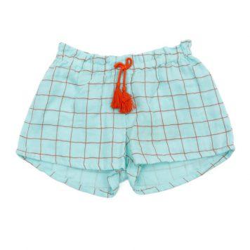 Lily Balou Shorts Nanou Muslin Squared Paper