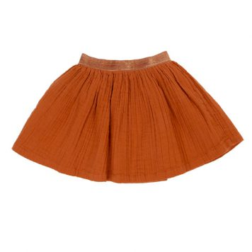 Lily Balou Skirt Adele Biscuit Brown