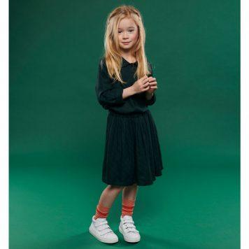 Lily Balou Skirt Adele Flanel Diagonal Green