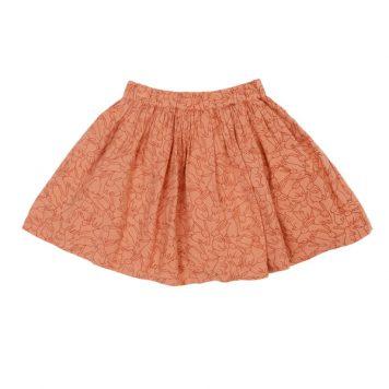Lily Balou Skirt Adele Flanel Rabbits